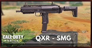 QXR SMG | Call of Duty Mobile - zilliongamer